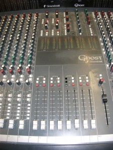 Mixing Desk Before Servicing