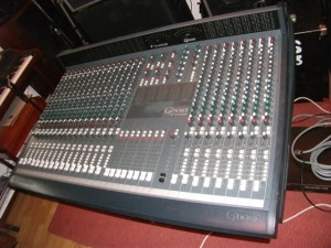 Fully serviced 24 track mixing desk